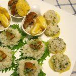 メープルシュガーのすし飯で作った飾り寿司