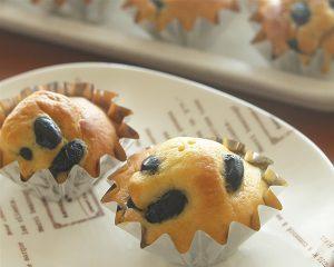 メープル黒豆のカップケーキ