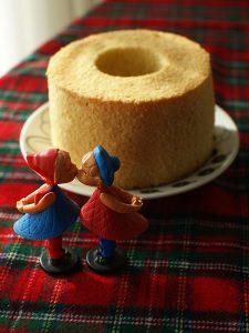 土台のケーキ