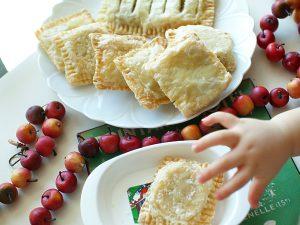 リンゴとさつまいものメープル煮 パイ包み